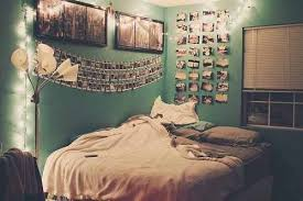 teen bedroom ideas tumblr. Bedroom Decorated With Photos Photography Lights Decor Pictures Teenagers Bed Interior Design Teen Room Photographer Ideas Tumblr