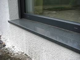 Naturstein Fensterbank Einbauen Video Fenstersims Innen With