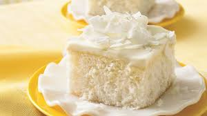 Coconut Cake With White Chocolate Frosting Recipe Bettycrockercom