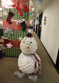 christmas office decorations. terrific christmas office decorations 2015 the holiday pole door pictures