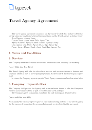 Simple Contractor Agreement Template Business Agreement Template Format Simple Contract