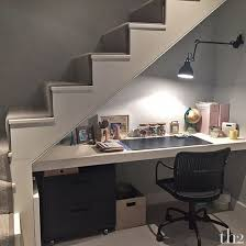 desk under stairs - Google Search More
