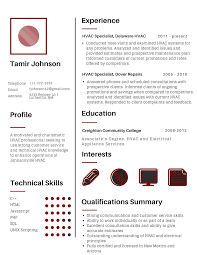 Effective Technical Resume Examples | Resume Examples 2018