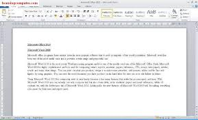 How To Make Resume On Microsoft Word 2010 Microsoft Word 2010 Tutorials You Can See High Definition