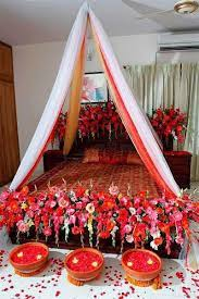 romantic wedding bedroom design