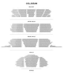 Young Vic Seating Chart Seating Plan The London Coliseum