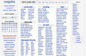 Craigslist 50 Best Websites of 2004 TIME