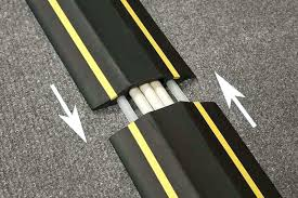 Office cable covers Wall Wire Covers For Floors Office Cable Protector Office Cable Covers Safety Line Floor Management Covers Wire Covers Hunt Office Wire Covers For Floors Rubber Duct Floor Wire Cable Cord Cover