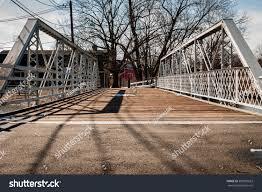 Steel Walkway Design Steel Bridge Walkway On Sunny Day Stock Photo Edit Now