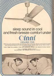 cinni ceiling fan ad