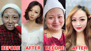 the real power of makeup makeup before and after chinese makeup transformation pilation
