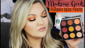 makeup geek pumpkin e eyeshadow palette