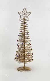Gold Wire Christmas Tree Lights Gold Wire Christmas Tree Decoration