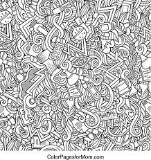 Small Picture Doodles 21 Science and Medicine Advanced Coloring Page