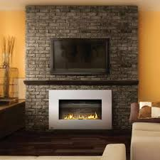 the ventless gas fireplace insert with brick wall problems with about in wall gas fireplace remodel