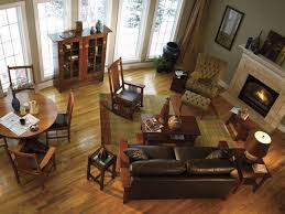 craftsman style living room furniture. Example Of An Arts And Crafts Living Room Design In New York Craftsman Style Furniture I