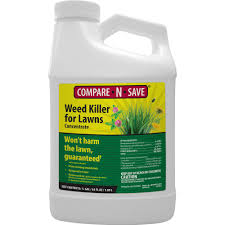 Image For Lawns Compare N Save 64 Oz Weed Killer For Lawns Concentrate Liquid Herbicide