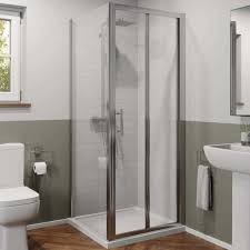 bi fold shower door enclosures