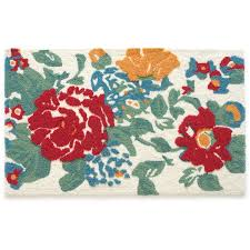 Bright Colored Kitchen Rugs The Pioneer Woman Country Garden Rug Walmartcom
