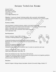 Medical Technologist Resume And Cover Letter Templates Best Of