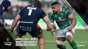 Guinness PRO14 Round 17 Highlights: Benetton Rugby v Edinburgh Rugby -  YouTube