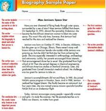 writing a biography poster teaching resources teach starter how to write a biography the w it s about sounds awesome