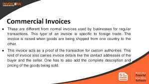 Type Of Invoices Know The 9 Types Of Business Invoices