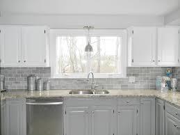 Clear Glass Backsplash Interior Clear Glass Subway Tile Backsplash Gray Subway Tile