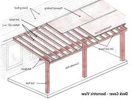 patio cover plans diy best of covered addition our wood