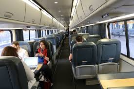 Inside An Acela Express Business Class Coach Picture Of