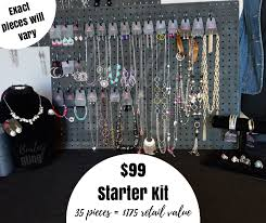 99 paparazzi accessories starter kit display