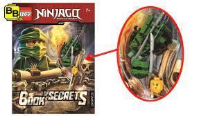 LEGO NINJAGO BOOK OF SECRETS LLOYD MINIFIGURE REVEALED! - YouTube