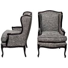 Wingback Chair Pair Of Tall Wingback Chairs At 1stdibs