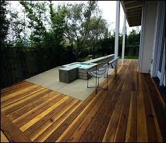 building a deck over concrete floating patio