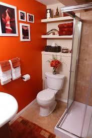 Orange Bathroom Decorating Ideas Home Design Ideas Amazing Orange Bathroom Decorating Ideas