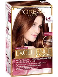 "<b>Стойкая крем</b>-<b>краска</b> для волос ""Excellence"" <b>L'Oreal Paris</b> ..."