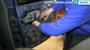 how to install replace rear inside door handle 1995 99 chevy tahoe gmc yukon you