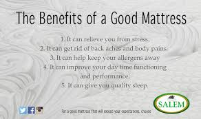 Ways In Which A Good Mattress Can Improve Your LifeA Good Mattress