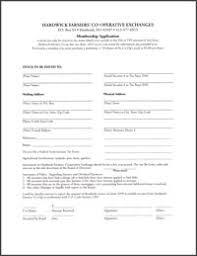 Application For Membership Membership Application For Hardwick Farmers Co Operative