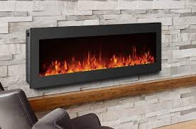 gmhome 1500 750w wall mounted electric fireplace heater with control