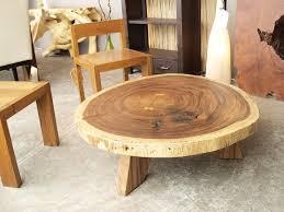 wood circle coffee table coffee table