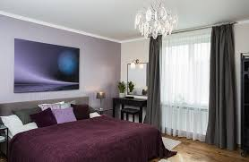 view in gallery plush violets and purples in the bedroom with sheer ds