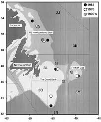 Flemish Cap Chart Bathymetric Chart Of The Ne Newfoundland Shelf Grand Bank