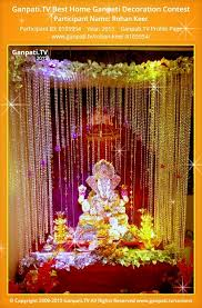 rohan keer home ganpati picture 2015 view more pictures and