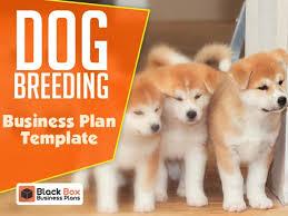 Dog Breeding Business Plan Template Black Box Business Plans