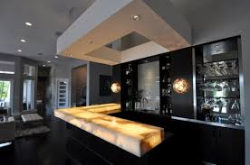 modern home bar design