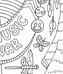 Small Picture Make Music CandyHippie Coloring Pages