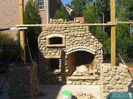 Robust Image Outdoor Fireplace Pizza Oven Building Outdoor Fireplace Pizza  Oven Outdoor Furniture Style in Diy
