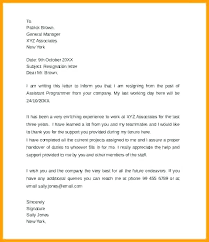 Sample Resignation Letter 2 Weeks Notice Stunning Week Resignation Letter Two Weeks Notice Writing A 48 Sample Of