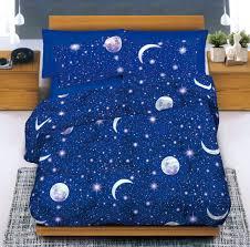 Completo lenzuola in cotone cielo stellato cose di casa un